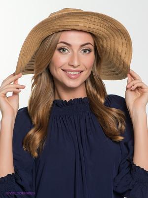 Шляпа FOMAS. Цвет: бежевый, голубой