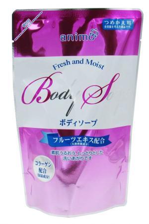 Жидкое мыло для тела EORIA. Цвет: розовый