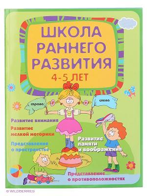 Школа раннего развития: 4-5 лет. Феникс-Премьер. Цвет: зеленый