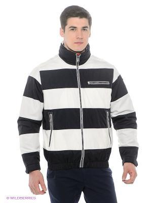Куртка Stonecast. Цвет: темно-синий, белый