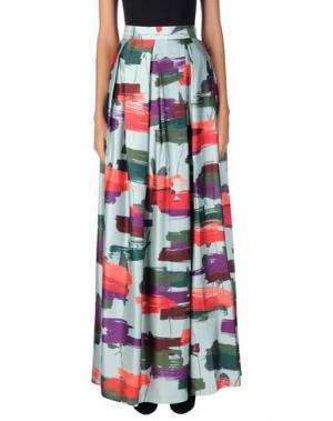 Длинная юбка RAOUL. Цвет: светло-зеленый