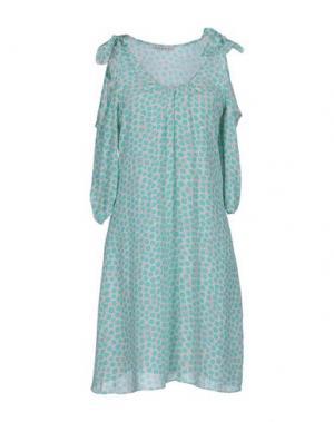 Короткое платье KOOKAI. Цвет: небесно-голубой