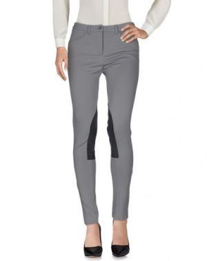 Повседневные брюки HENRY COTTON'S. Цвет: светло-серый