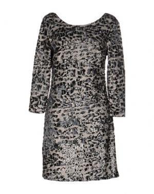 Короткое платье DRY LAKE.. Цвет: серый