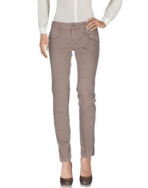 Повседневные брюки ECO. Цвет: хаки