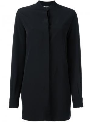 Объемная рубашка Sportmax. Цвет: чёрный