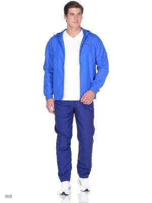 Костюм спортивный  Vent Hooded Woven Suit op PUMA. Цвет: голубой, синий
