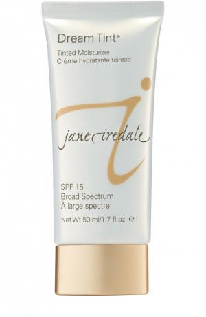 Увлажняющий крем с тональным эффектом, оттенок Средне-темный jane iredale. Цвет: бесцветный