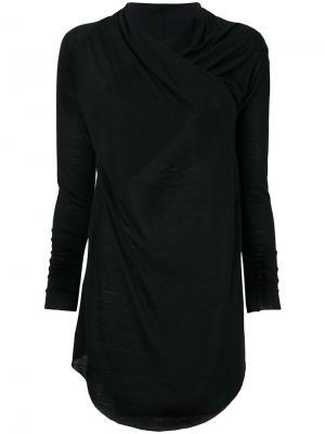 Пальто Tyche Damir Doma. Цвет: чёрный