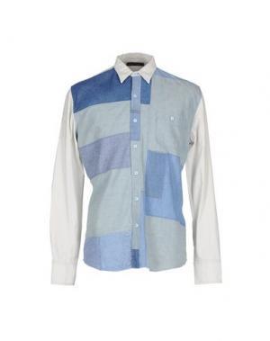 Pубашка LONGJOURNEY. Цвет: небесно-голубой