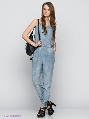 Комбинезон Vero moda. Цвет: голубой