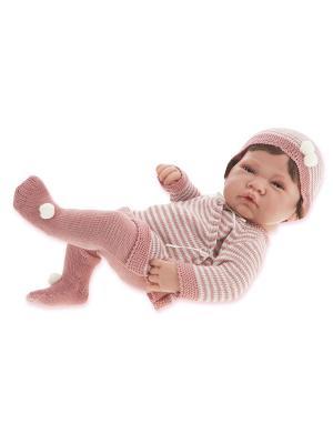 Кукла-младенец Мануэла, 42 см. Antonio Juan. Цвет: розовый