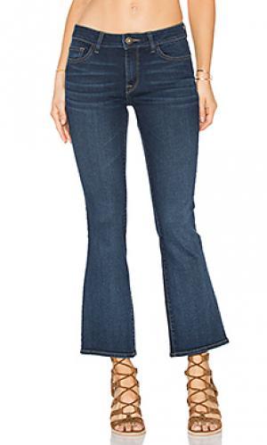 Миниатюрные джинсы-клёш abbey DL1961. Цвет: none