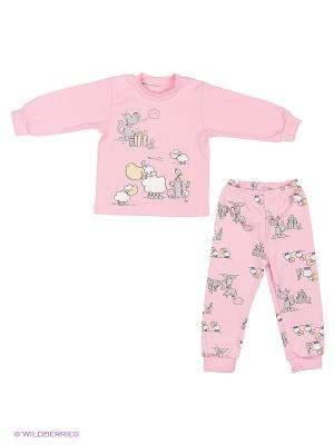 Пижама Лео. Цвет: розовый