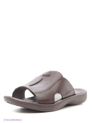 Пантолеты Дюна. Цвет: коричневый