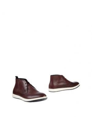 Полусапоги и высокие ботинки GIORGIO ARMANI. Цвет: баклажанный
