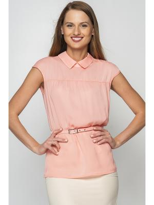 Блузки Limonti. Цвет: персиковый