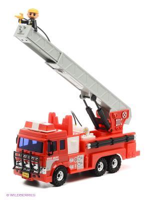 Игрушка Пожарная машина Daesung Toys. Цвет: красный