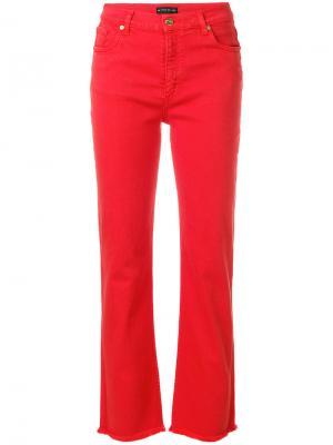 Прямые джинсы Etro. Цвет: красный