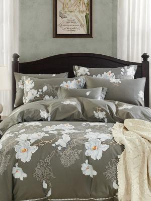 Комплект постельного белья ROMEO AND JULIET. Цвет: серый, белый, светло-серый