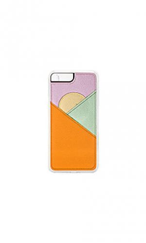 Чехол для телефона peak wallet ZERO GRAVITY. Цвет: оранжевый
