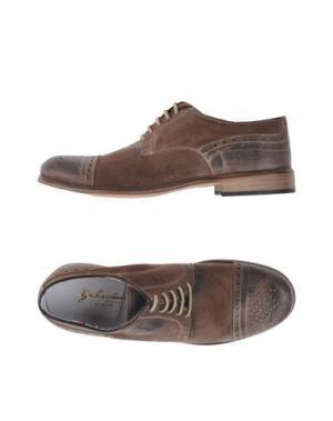 Обувь на шнурках GABARDINE. Цвет: хаки