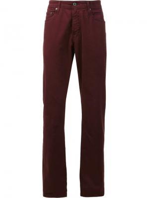 Джинсы Sateen Ag Jeans. Цвет: красный