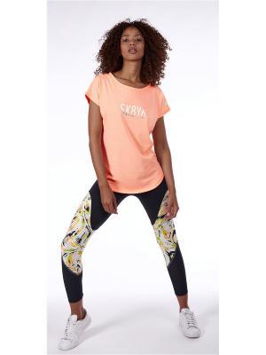 Спортивная футболка Skiny. Цвет: персиковый