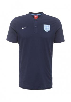 Поло Nike. Цвет: синий