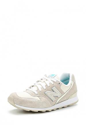 Кроссовки New Balance. Цвет: белый