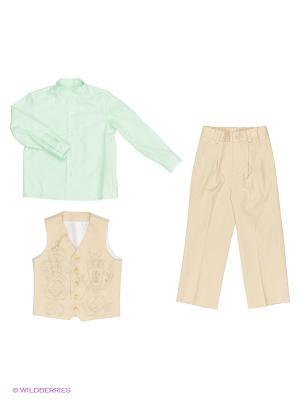 Комплект одежды Милашка Сьюзи. Цвет: бежевый