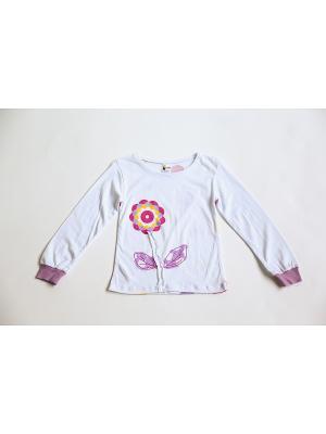 Пижама Iota. Цвет: белый, сиреневый