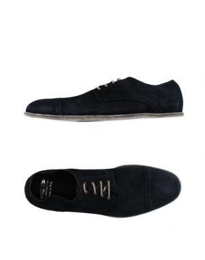 Обувь на шнурках FESSURA. Цвет: темно-синий