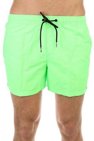 Шорты пляжные  Azurvolley14 Green Gecko Quiksilver. Цвет: зеленый