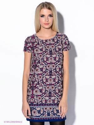Платье New Look. Цвет: синий, бордовый, фуксия