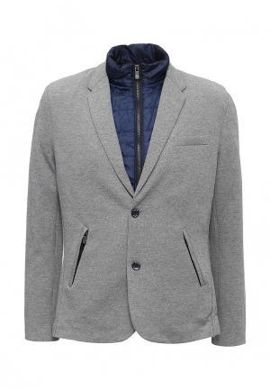 Пиджак Drywash. Цвет: серый
