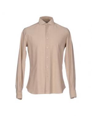 Pубашка ORIAN. Цвет: бежевый