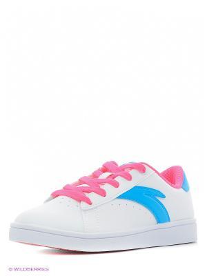 Кроссовки ANTA. Цвет: белый, голубой