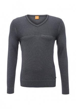 Пуловер Boss Orange. Цвет: синий
