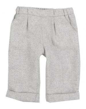 Повседневные брюки I GIANBURRASCA. Цвет: светло-серый