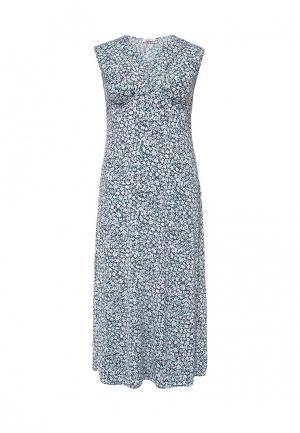 Платье Vay. Цвет: голубой