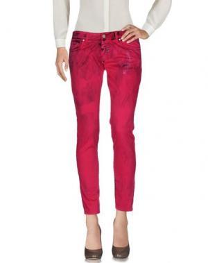 Повседневные брюки GAETANO NAVARRA. Цвет: фуксия