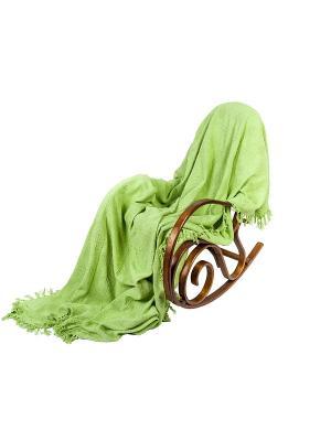 Покрывало ARLONI. Цвет: зеленый