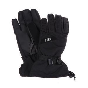 Перчатки сноубордические  Long Glove Black Pow. Цвет: черный