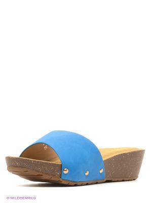 Сабо Vitacci. Цвет: голубой