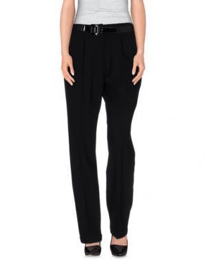Повседневные брюки LOVE SEX MONEY. Цвет: черный