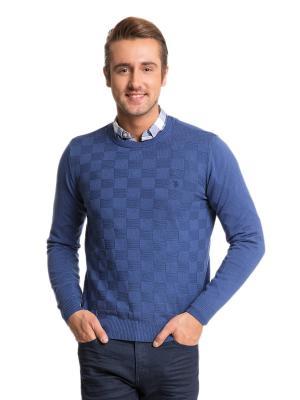 Джемпер U.S. Polo Assn.. Цвет: голубой