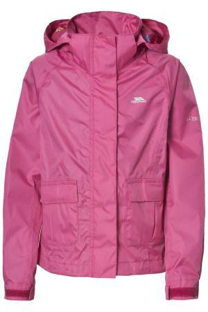 Куртка Trespass. Цвет: pink