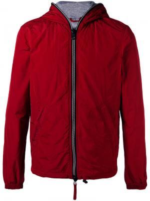 Легкая стеганая куртка Duvetica. Цвет: красный