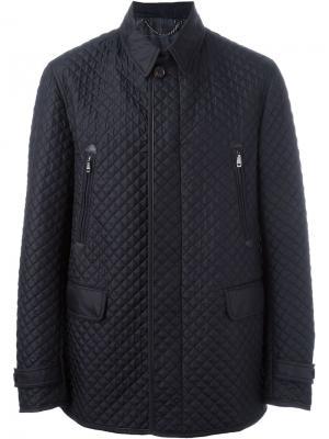 Куртка на молнии Brioni. Цвет: синий